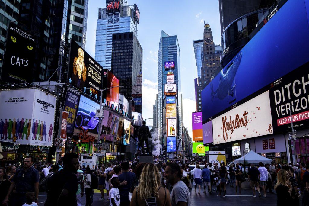New York'tan görüntüler.